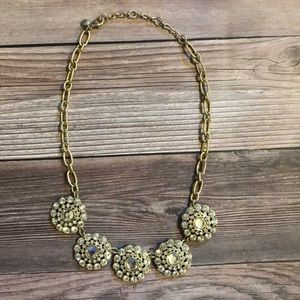 J.Crew statement circle necklace